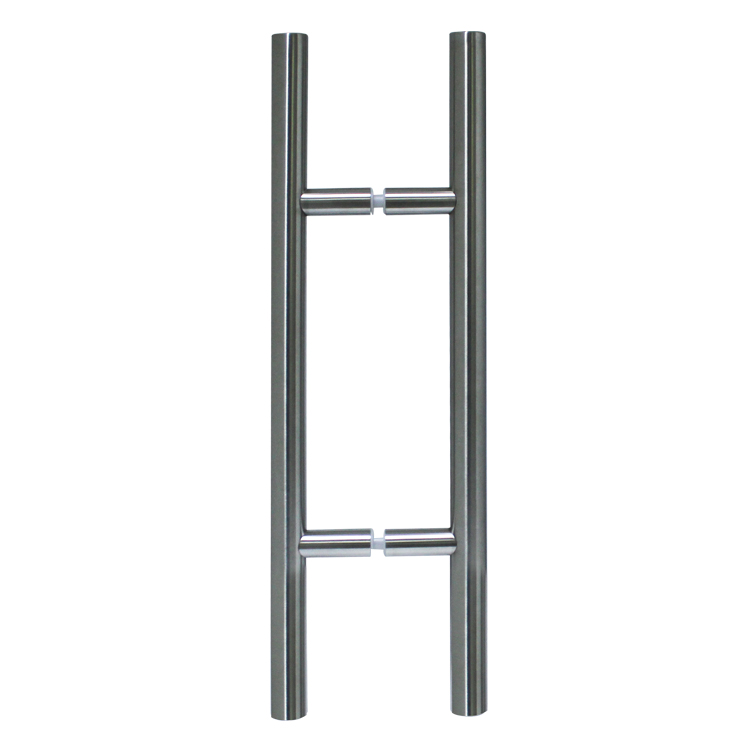 LADDER PULL HANDLE BACK-TO-BACK - SATIN STAINLESS STEEL MOD. L20
