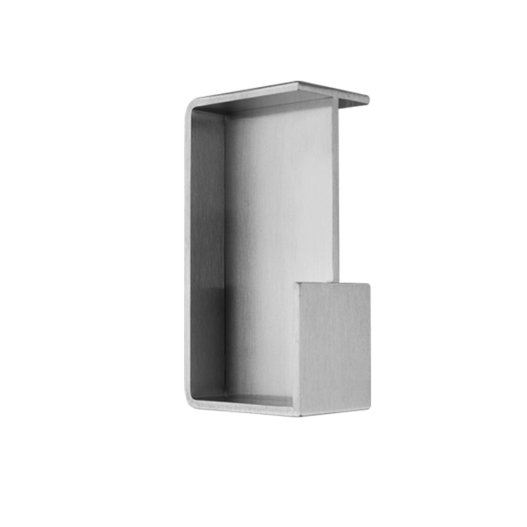 """OVALE"" POCKET DOOR HANDLE STAINLESS STEEL MOD. W4250"