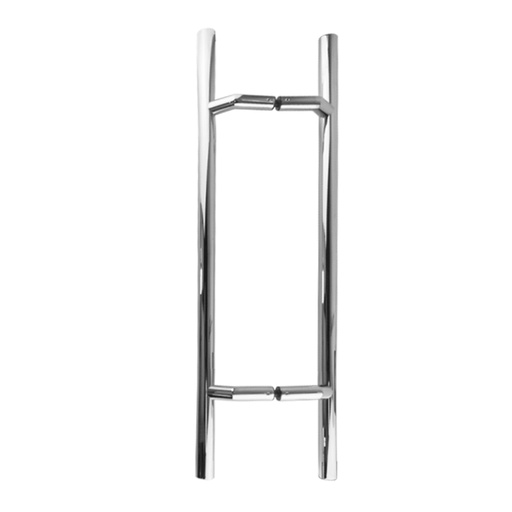[CHCP042-500PSS] OFFSET LADDER PULL HANDLE BACK-TO-BACK - POLISHED STAINLESS STEEL L42