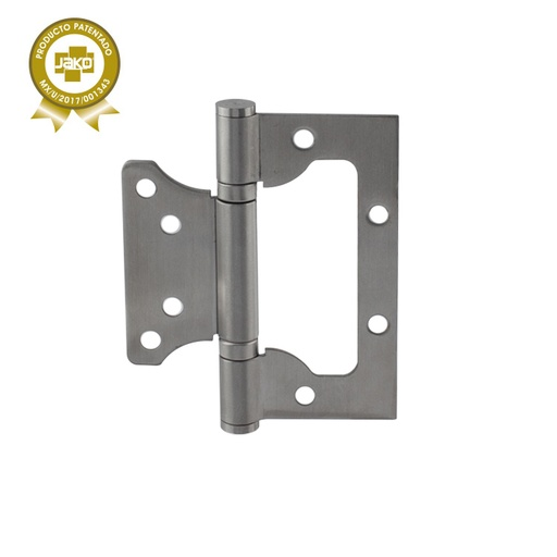 "[CMJ2407] BI-FOLDING NON-MORTISE HINGE STAINLESS STEEL 4""x2-3/16""x1/16"" MOD. CMJ2407"